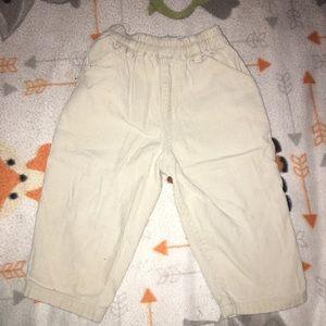 Baby boy khaki pants SZ: 18M